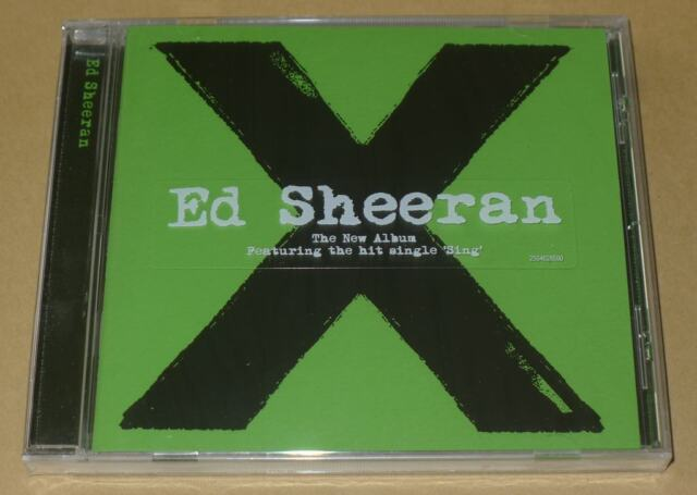 X by Ed Sheeran CD