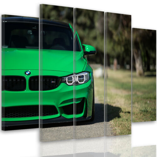 MODERN HD ART Grün BMW 1316 TOP LEINWAND BILD BILDER 54 Varianten