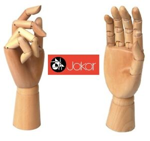 Jakar-Wooden-Manikin-Right-Hand-12-034-Adult-Life-Size-Artists-Shop-Display-Gesure