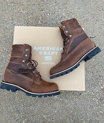 "Comandante Recuerdo Lógico  Timberland 8"" American Craft Boots Potting Soil Brown Men's Size 10 M  Waterproof | eBay"