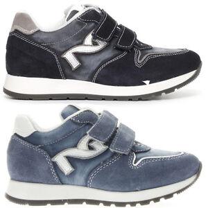 NERO GIARDINI P734190M TEEN scarpe donna sneaker pelle