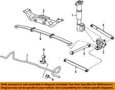 GM OEM Stabilizer Sway Bar-Rear-Link 15926031