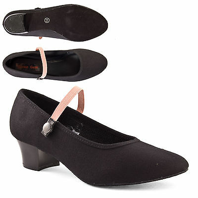 RAD Character Syllabus Dance Shoe Cuban and Low heel All Sizes By Katz Dancewear