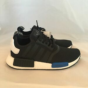 68d646494 Image is loading Adidas-NMD-Runner-Boost-GS-Black-White-Blue-