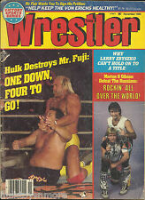 The Wrestler Wrestling Magazine November 1985 Hulk Hogan Rock N Roll Express