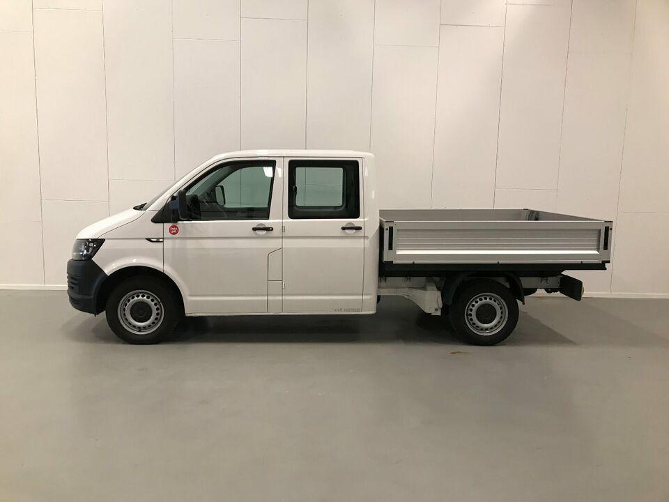 VW Transporter 2,0 TDi 150 Db.Cab m/lad 4M Diesel modelår