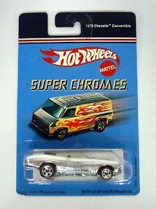 Hot-Wheels-1970-Chevelle-Convertibile-Super-Chromes-Modellino-Auto-Moc-2006
