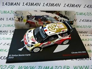 RBE10M-1-43-IXO-Altaya-Rallye-Belgique-CITROEN-DS3-WRC-LOEB-2013-M-Carlo