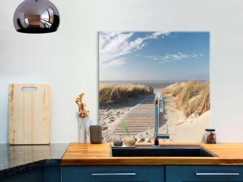 Glasbild 80x80 cm Wandbild Glas Küche Küchenrückwand Spritzschutz c-B-0498-aq-a