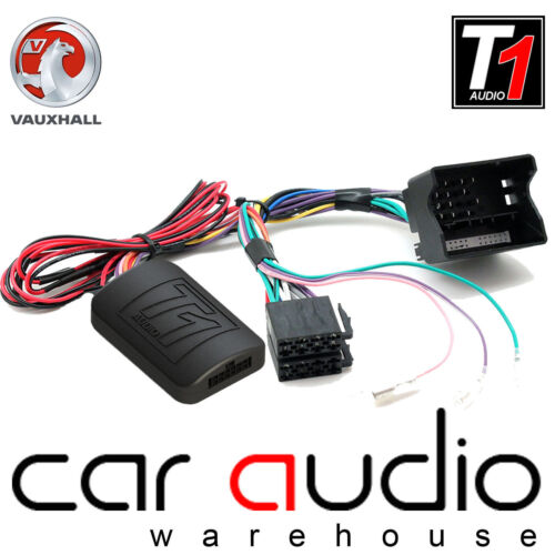 Vauxhall Corsa D 2009-2014 adaptador de interfaz de tallo Onwards Volante Kit