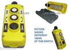 Ascensor de cola de 3 Botones/Cabrestante arriba/abajo Interruptor de control de inclinación