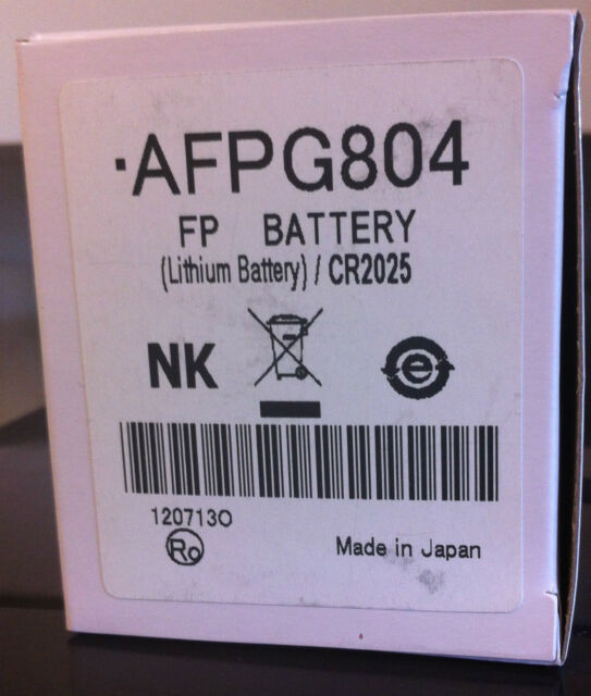 10pcs Panasonic PLC Battery AFPG804 for Fpσ Series Fast Delivery for sale online