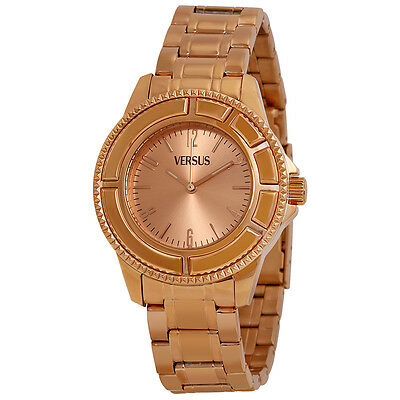 Versus by Versace Tokyo Rose Dial Rose Gold Ion-plated Ladies Watch SH7050013