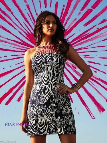 NWT LILLY PULITZER TERRY SHIFT BRIGHT NAVY ENTOURAGE 0,2,4,6,8,10,12 BRAND NEW