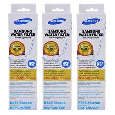 Samsung DA29-00020B HAF-CIN/EXP Refrigerator Water Filter Factory Seal 3 Pack