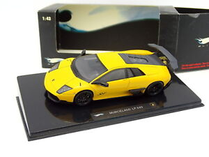 Hot-Wheels-1-43-Lamborghini-Murcielago-LP-640-SV-Jaune