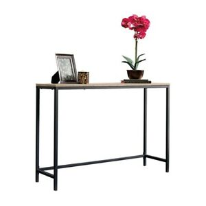 Image Is Loading Console Table For Entryway Hallway Foyer Sofa Narrow