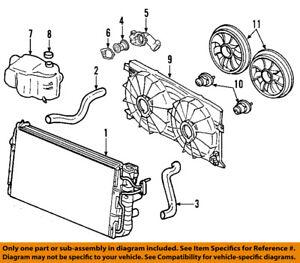 details about chevrolet gm oem 06 11 impala radiator coolant lower hose 25863877 3400 sfi engine cooling system diagram 2008 chevy impala cooling system