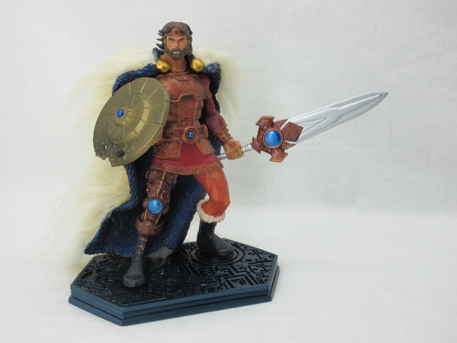 MOTU,KING RANDOR,200x,Neca,MINT,100% Complete,Masters of the Universe,He man