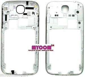 Original Samsung Galaxy S4 i9500 9505  Mittelrahmen SILBER Mittel Rahmen
