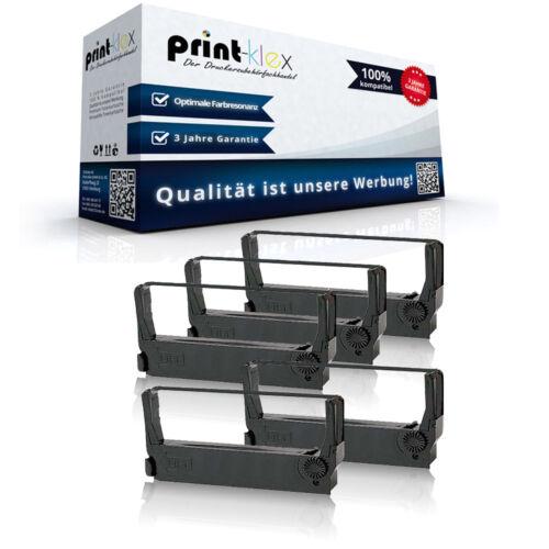 5x Kompatibel Farbbänder für Epson ERC 27 Nylonband Kassetten Drucker Pro Serie