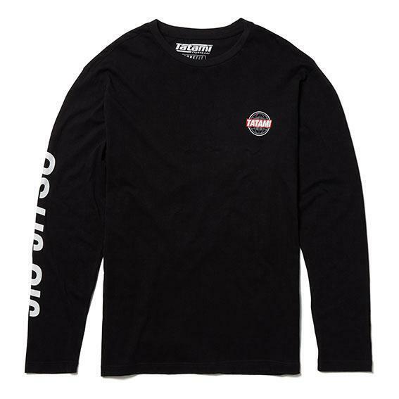 Tatami Takedown Crew BJJ T-Shirt Black Mens Jiu Jitsu Casual Top MMA