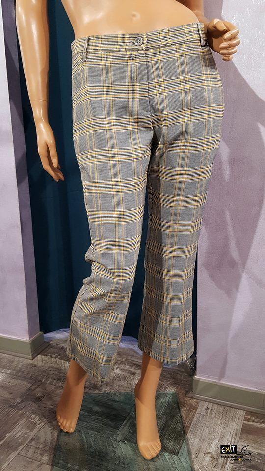 Denny rosa pantalone riga gialla art. 721DD20013 collezione autunno-inverno 2017 2017 2017 64cb3d
