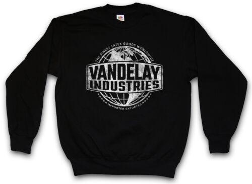 VANDELAY INDUSTRIES SWEATSHIRT PULLOVER Sign Insignia Logo Company Seinfeld