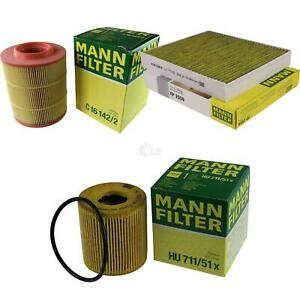 Mann-Filter-filtro-de-aire-paquete-espacio-interior-filtros-de-aceite-filtro-Ford-S-Max-wa6-2-2-tdci