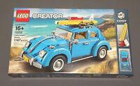 Lego Volkswagon Beetle Set 10252 Creator Expert Blue Car Vehicle Vw Bug Model