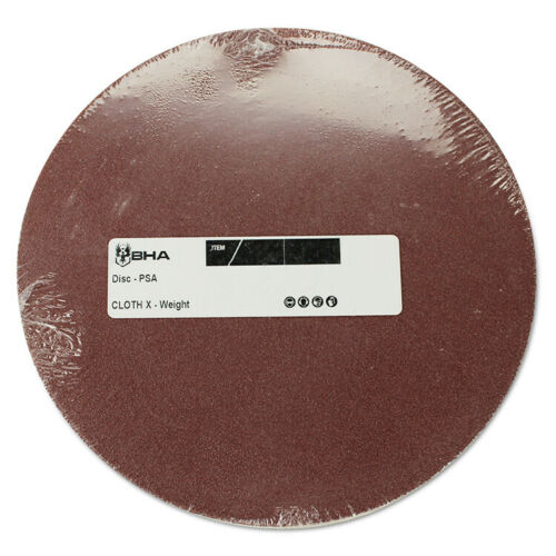 10 Pack Self Adhesive Peel and Stick 12 Inch PSA Aluminum Oxide Sanding Disc