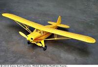 Piper Super Cruiser Easy Built Lc03 Balsa Wood Model Airplane Kit Rubber Power