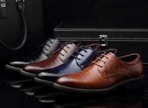 european style leather business men's oxfords fashion