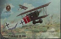 Roden 1/48 Fokker D.VII Abatros German BiPlane Fighter Model Kit 424
