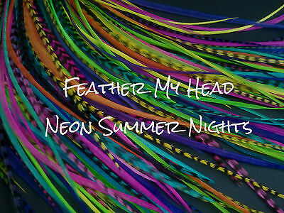 All Bright Grizzly And Solid Feather Extensions Hair Feathers Extra Long
