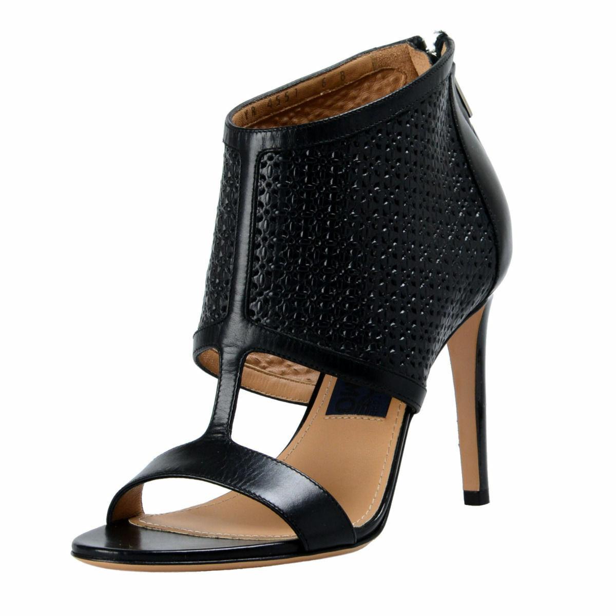 Salvatore Ferragamo  Pacella  Leather High Heel Pumps shoes 6 6.5 7 7.5 9.5 B C