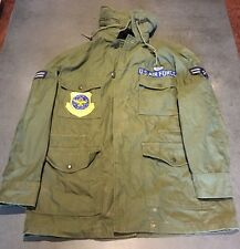 Vintage Army Style Air US Air Force Green Military Field Jacket Size Small Reg