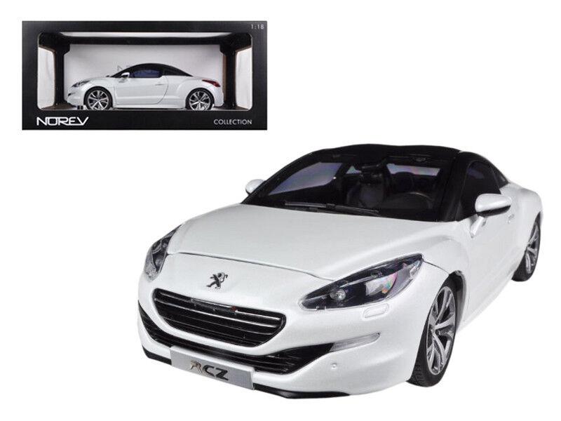 1 18 Norev  2012 Peugeot RCZ Pearl blanc Diecast Model voiture blanc 184782  profitez d'une réduction de 30 à 50%