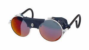 Julbo Vermont Classic Sunglasses, Re-Edition, White, Blue Leather ... 60efe213dbab