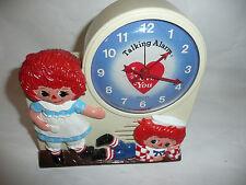Janex 1974 Wind-Up BATMAN AN ROBIN  Talking Alarm Clock,Tics and Talks,Vintage.