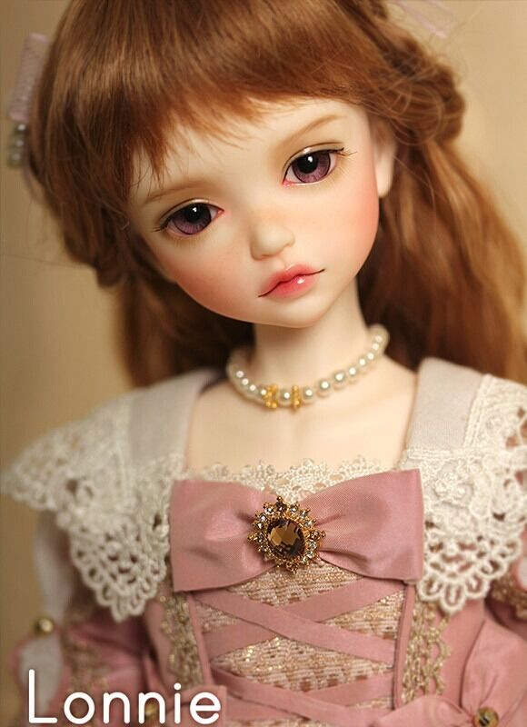 1 6 BJD Doll SD Doll Girl iple kid lonnie -frei Face Make UP+Eyes