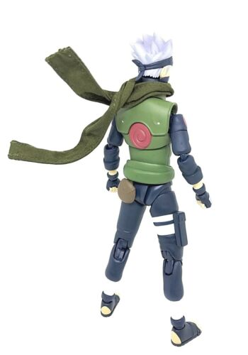 KC-SF-GN Green Fabric Wired Scarf for SHF Figma Action Figures