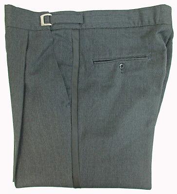 "New Black Tuxedo Pants Flat Front 39-41/"" Adjustable Waist Long Rise Mason"