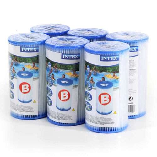 Cochetouche de filtration Type 4 (IV)  Intex  Filtre Piscine type B  Pompe  X 6