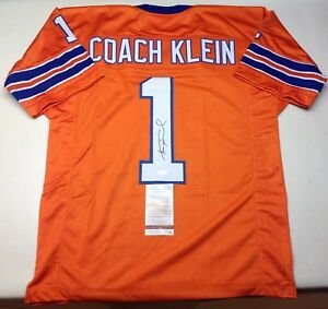 bf260314d Image is loading HENRY-WINKLER-COACH-KLEIN-SIGNED-WATERBOY-MUD-DOGS-
