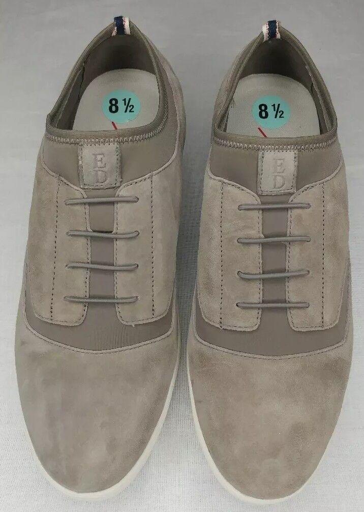 Love by Ellen Degeneres Tennis FlexED Shoes - Suede Atala Size 8.5 Grey Suede - 6364a6