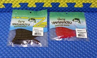Gary Yamamoto Shad Shape Minnow Drop Shot Soft Plastic Fishing Lures 68L-10 Pack