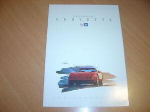 CATALOGUE-Chevrolet-Corvette-de-1993