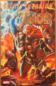 Thor-Secret-Invasion-VF-NM-tpb-Fraction-Braithwaite-Marvel