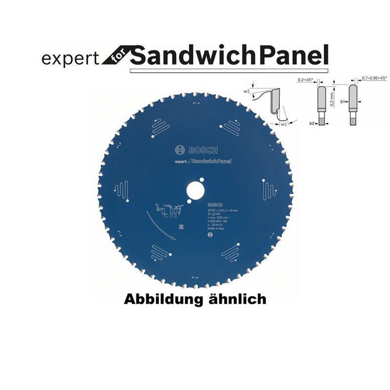 Bosch Sägeblatt 270x2,4x30,0 Z60 Expert for SandwichPanel 2608644145